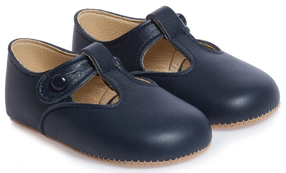 George navy Leather Childrensalon