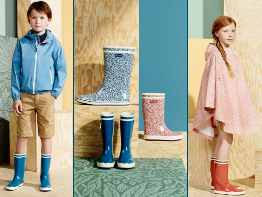 Aigle Spring 2015 Lookbook Images Kids Boots Clothing